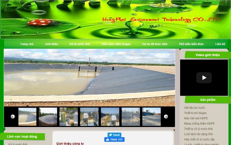 Công ty TNHH MTV công nghệ môi trường Hùng Phát