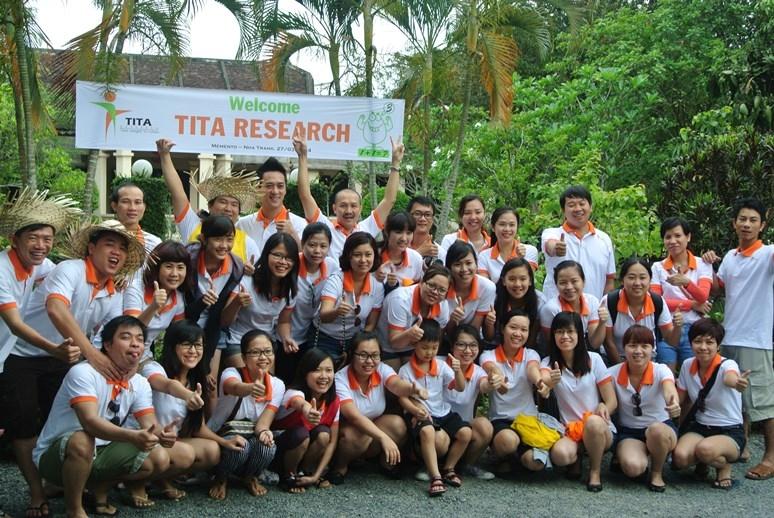 Đội ngũ nhân viên của công ty nghiên cứu thị trường TITA
