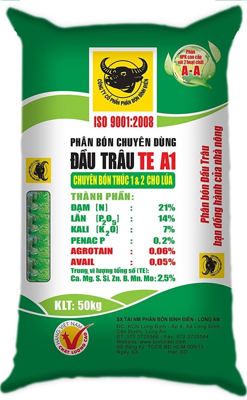 Sản phẩm phân bón của công ty phân bón Bình Điền.