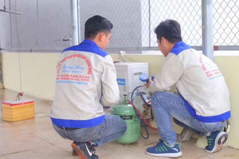Công ty sửa chữa điều hòa Quang Dũng