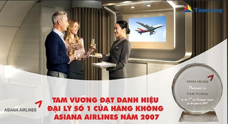 Tam Vương Group - một đại lý bán vé máy bay hàng đầu tại Việt Nam