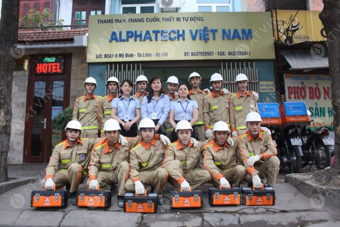 Thang máy Alphatech Việt Nam - Công ty sửa chữa và bảo trì thang máy uy tín nhất tại Hà Nội