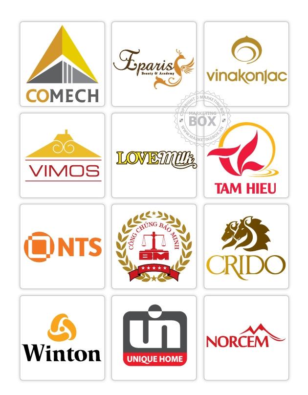 Một số mẫu logo của Sắc Vàng