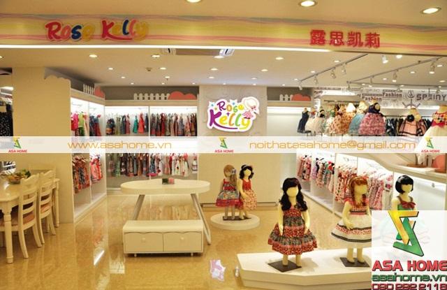 Thiết kế nội thất Shop đồ trẻ em tại quân 1