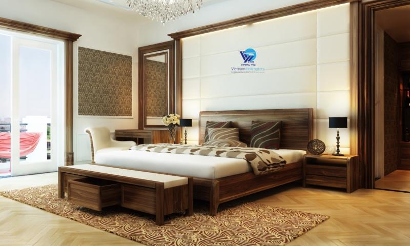 Phòng ngủ cổ điển - Một thiết kế rất được ưa chuộng của Đồng Gia