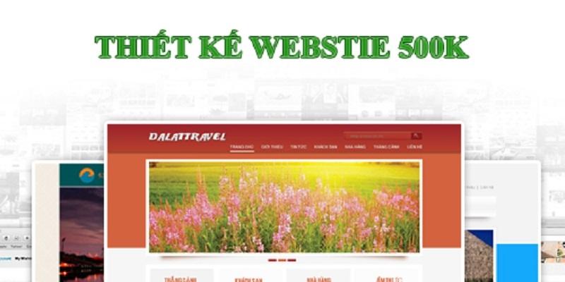 Công ty thiết kế website 500k