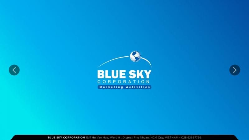 Công ty thiết kế website Bluesky