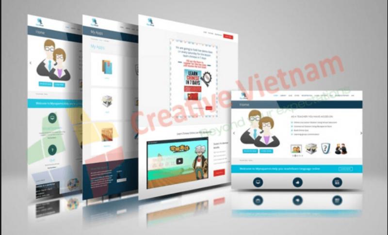 Công ty thiết kế website Creative Việt Nam