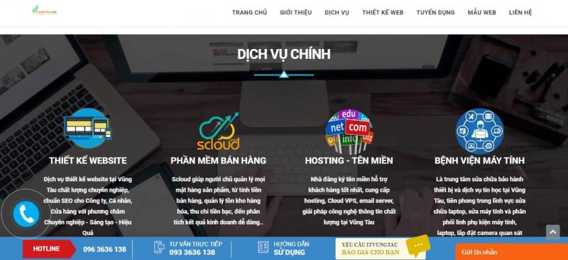 Công ty Thiết kế Website ITVUNGTAU