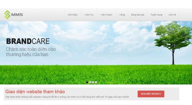 Công ty thiết kế web MMS