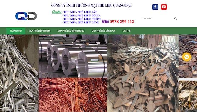 Công ty thu mua phế liệu Quang Đạt