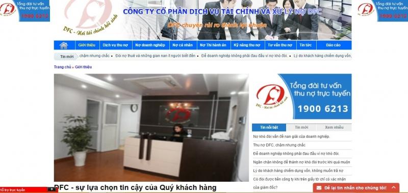 Hình ảnh website và văn phòng công ty