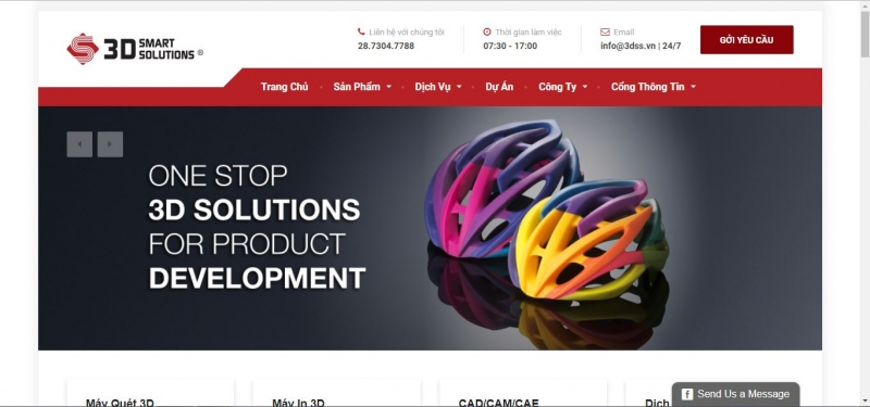 website của CÔNG TY TNHH 3D SMART SOLUTIONS