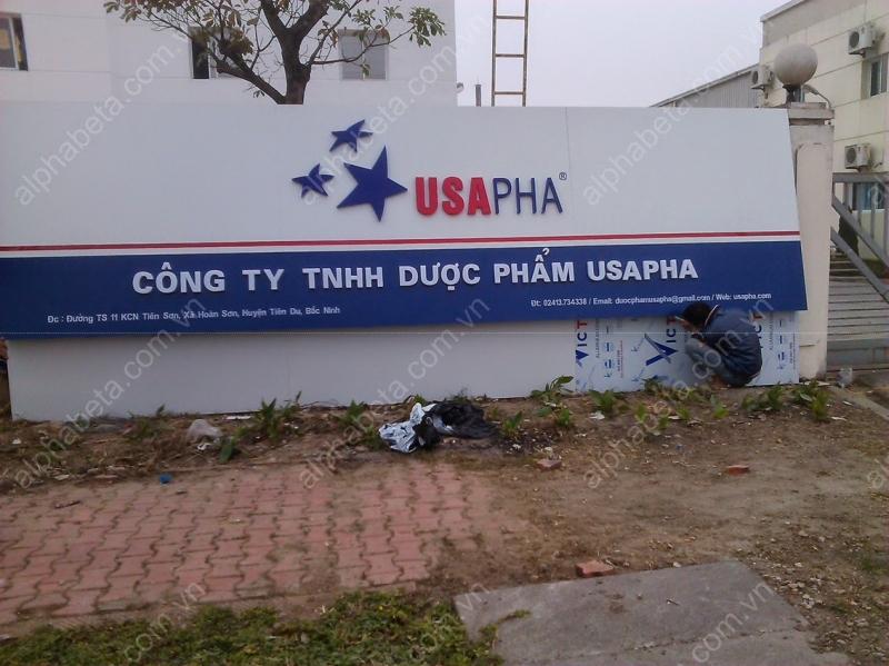 Công ty TNHH Alpha-Beta- chuyên biển quảng cáo giá rẻ Hà Nội