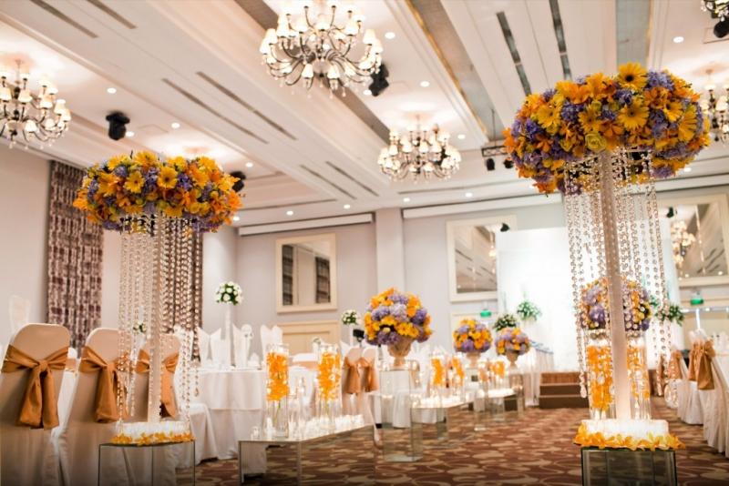Trang trí nhà cưới với phong cách sang trọng và tinh tế
