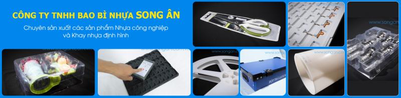 Công Ty TNHH Bao Bì Nhựa Song Ân là một đơn vị chuyên nghiệp và nhiều kinh nghiệm trong lĩnh vực sản xuất các sản phẩm nhựa công nghiệp như: Khay nhựa định hình PS, PP, PET,...