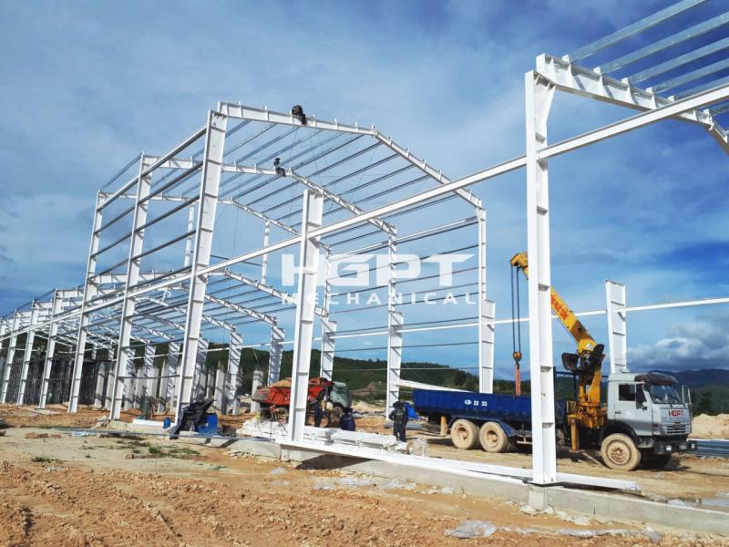 Kết cấu thép Nhà ga Quốc tế Sân bay Đà Nẵng