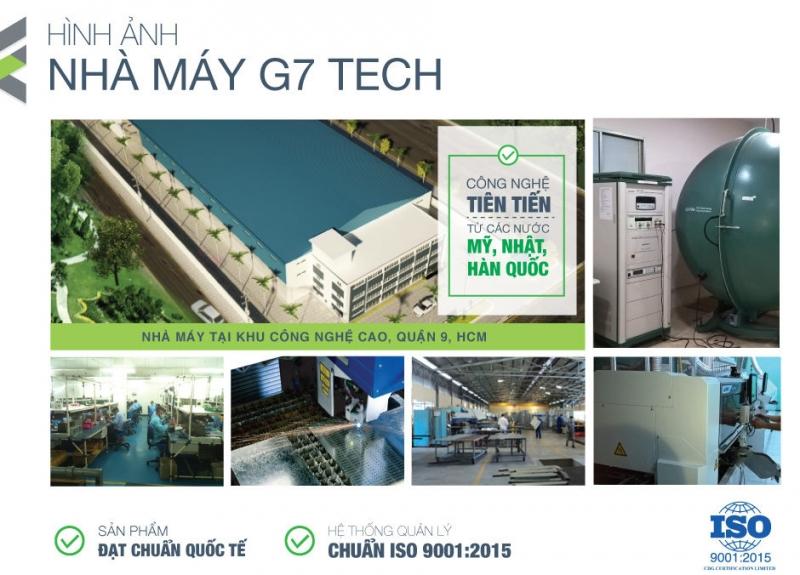 Hình ảnh nhà máy G7 Tech