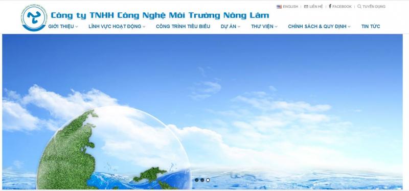 Công ty TNHH công nghệ môi trường Nông Lâm