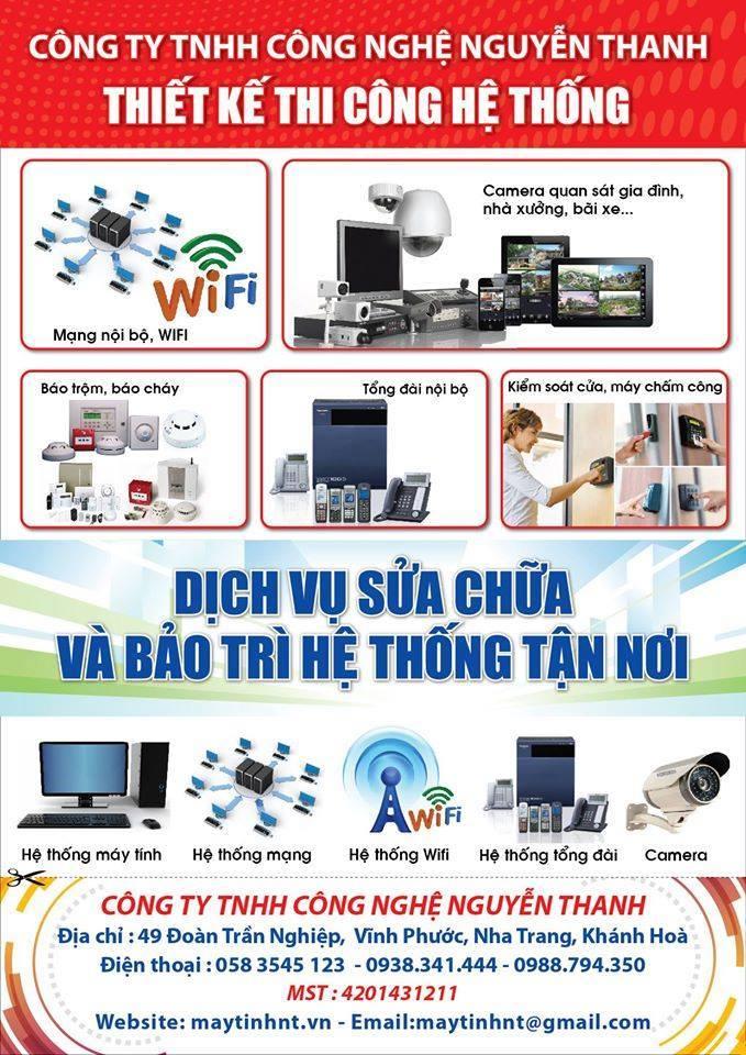 Cty TNHH Công nghệ Nguyễn Thanh