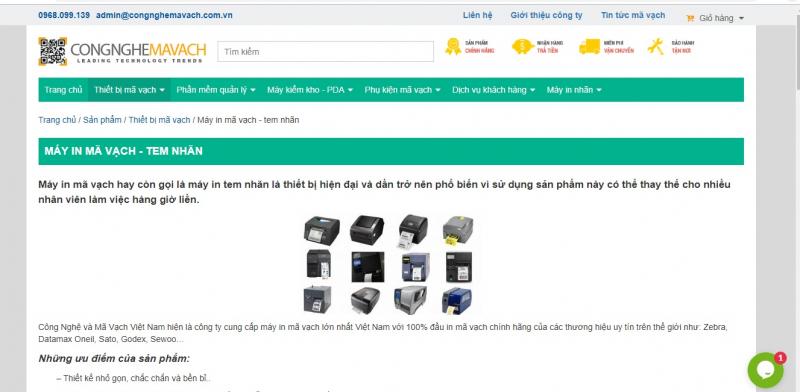 Công Ty TNHH Công Nghệ và Mã Vạch Việt Nam