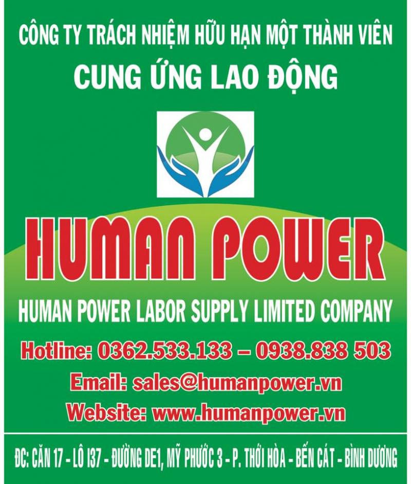 Công ty TNHH Cung Ứng Lao Động Human Power