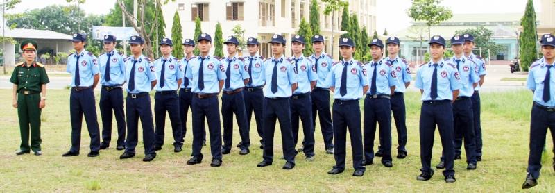 Khóa huấn luyện nghiệp vụ tại Công ty TNHH dịch vụ bảo vệ 24HVN