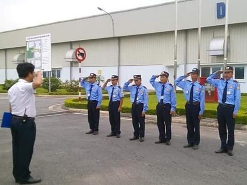Đội ngũ nhân viên của Công ty TNHH dịch vụ bảo vệ Long Việt rất chuyên nghiệp