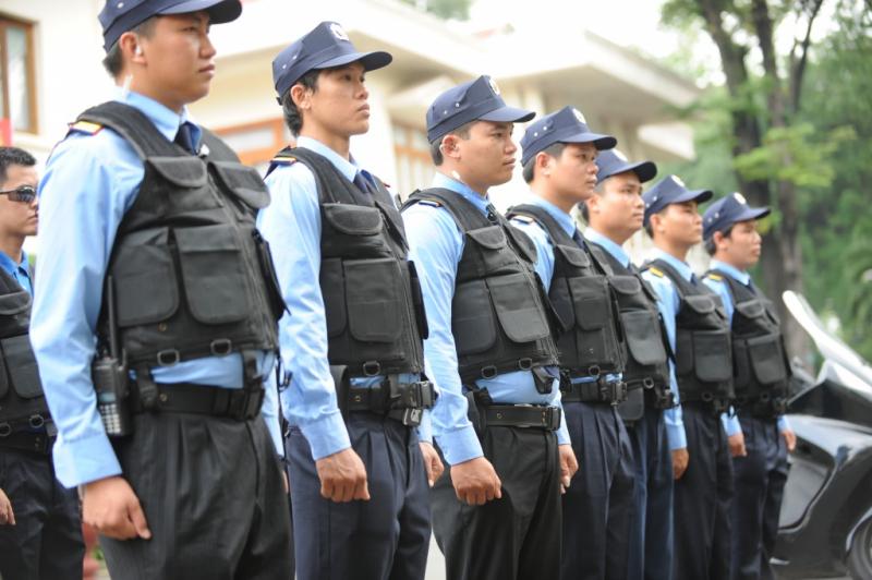 Vệ sĩ tại Công ty TNHH dịch vụ bảo vệ Thành Đồng