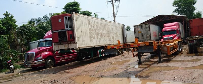 Hàng hóa vận chuyển bằng Container rất đa dạng