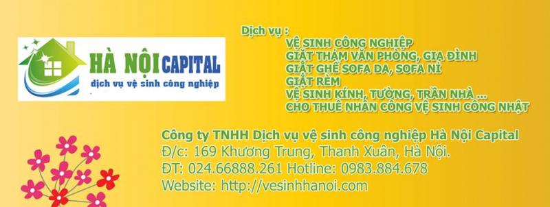 Công ty TNHH dịch vụ vệ sinh công nghiệp Hà Nội CAPITAL