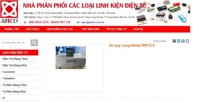 Top 7 Địa chỉ cung cấp bình ắc quy uy tín chất lượng tại Hà Nội