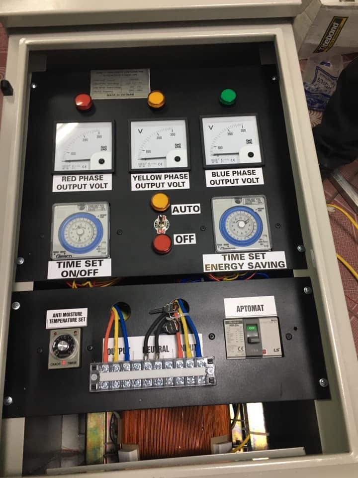 Sản phẩm đèn LED sau khi lắp đặt
