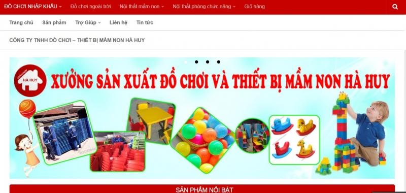 Công ty TNHH đồ chơi - thiết bị mầm non Hà Huy