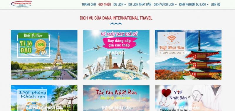 Công ty TNHH Du lịch Quốc tế DANA