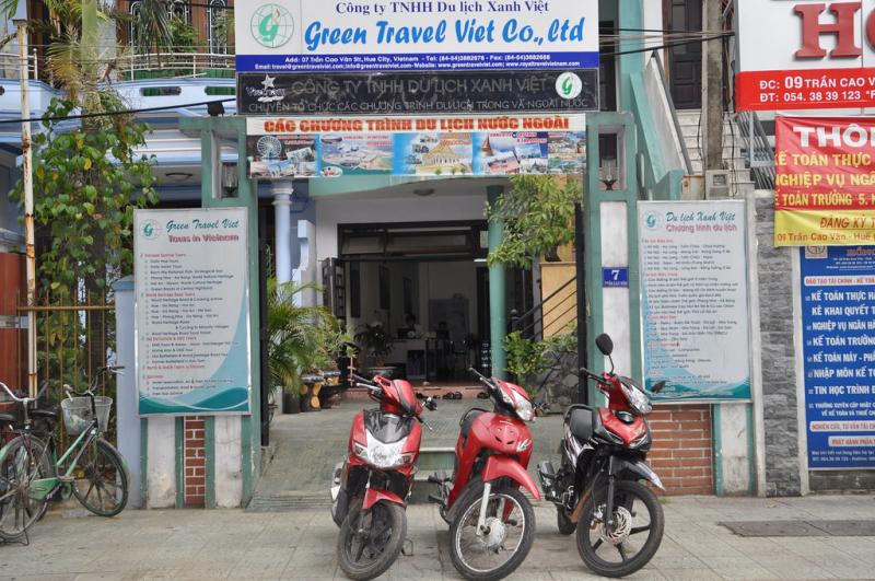 Công ty TNHH du lịch Xanh Việt