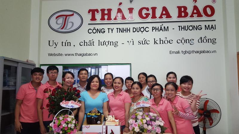 Công ty TNHH dược phẩm thương mại Thái Gia Bảo