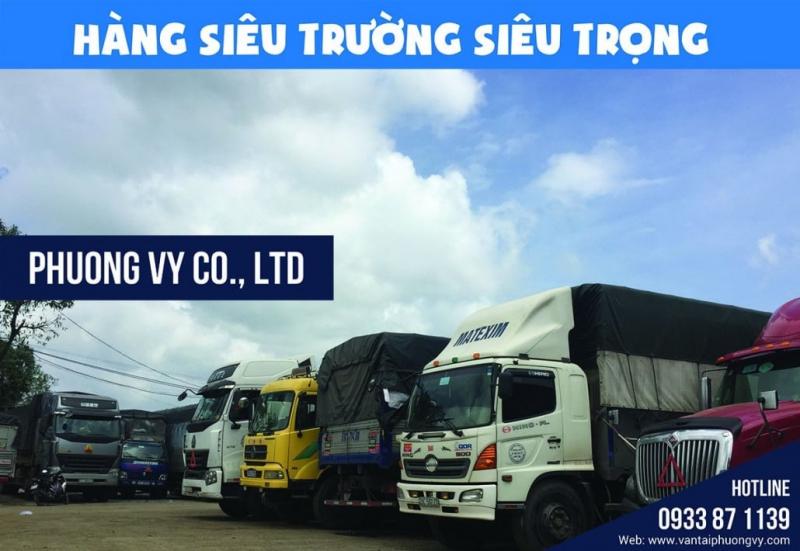 Công ty Vận Tải Phương Vy xứng đáng là lựa chọn hàng đầu cho dịch vụ vận chuyển mà đặc biệt là đối với các loại hàng hóa siêu trường siêu trọng