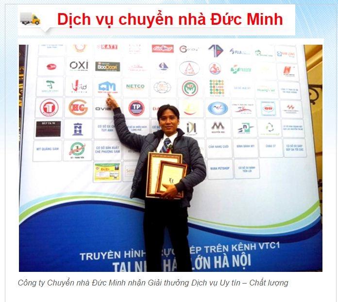 Công ty Vận tải Đức Minh nhận các giải thưởng