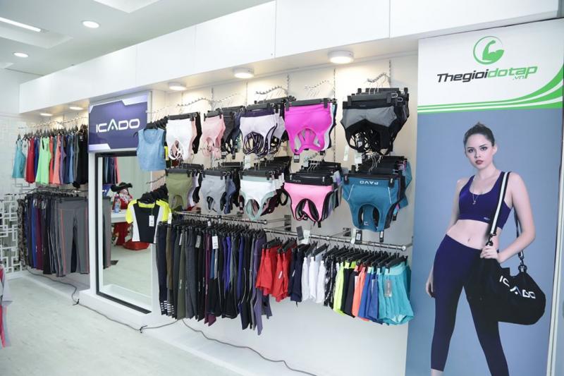 Bộ quần áo tập gym nữ