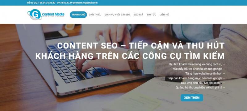 Công ty TNHH Gcontent Media