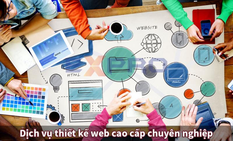 Công ty TNHH Giải Pháp Số Expro Việt Nam dịch vụ thiết kế web chuyên nghiệp
