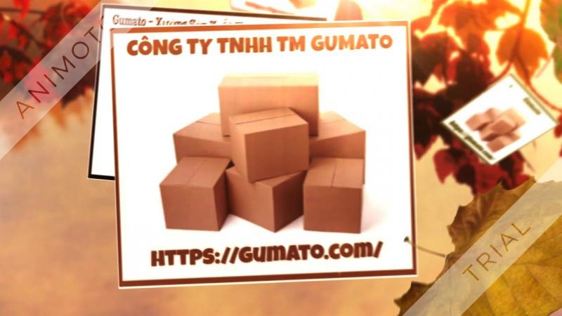 Thùng carton của Công ty TNHH Gumato