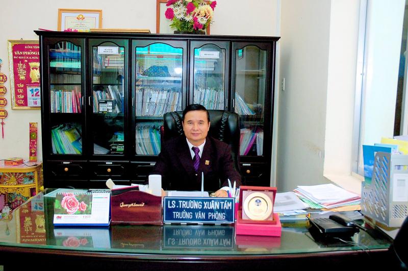 Luật sư Trương Xuân Tám