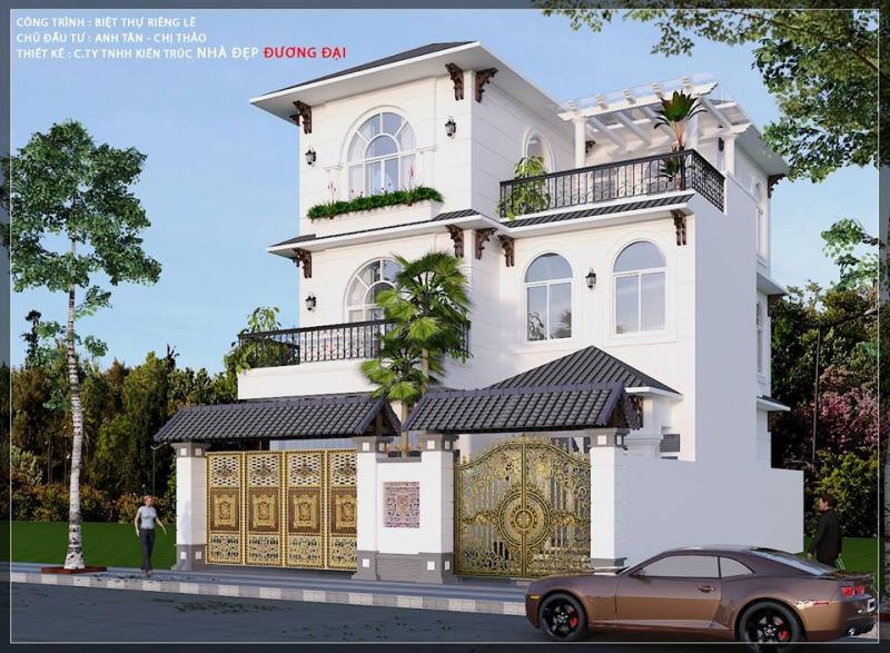 Công ty TNHH Kiến Trúc Nhà Đẹp Đương Đại