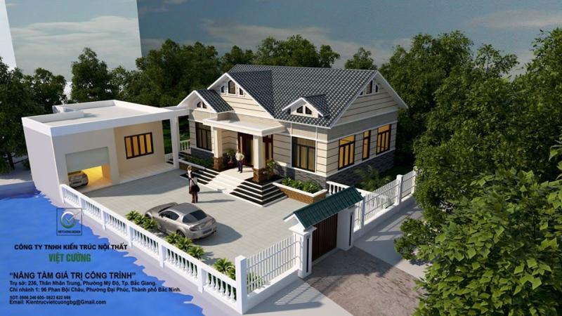 Công ty TNHH kiến trúc nội thất Việt Cường
