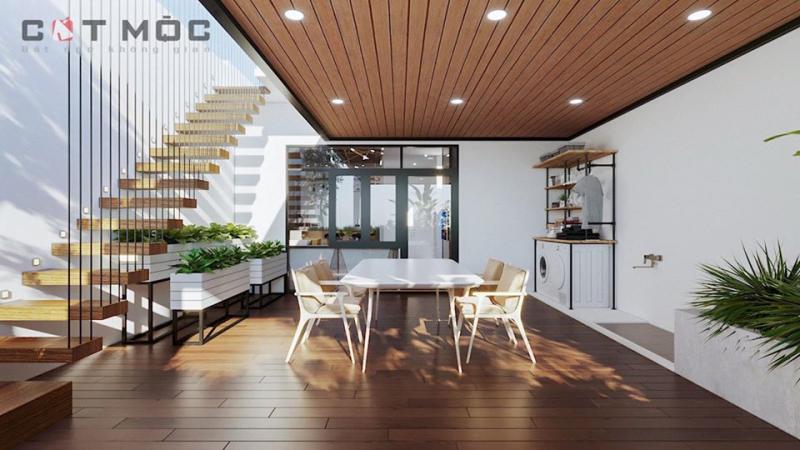 Cải tạo một ngôi nhà 2 tầng ở Bình Tân.