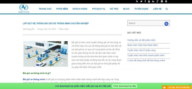 Công ty TNHH kỹ thuật công nghệ An Việt