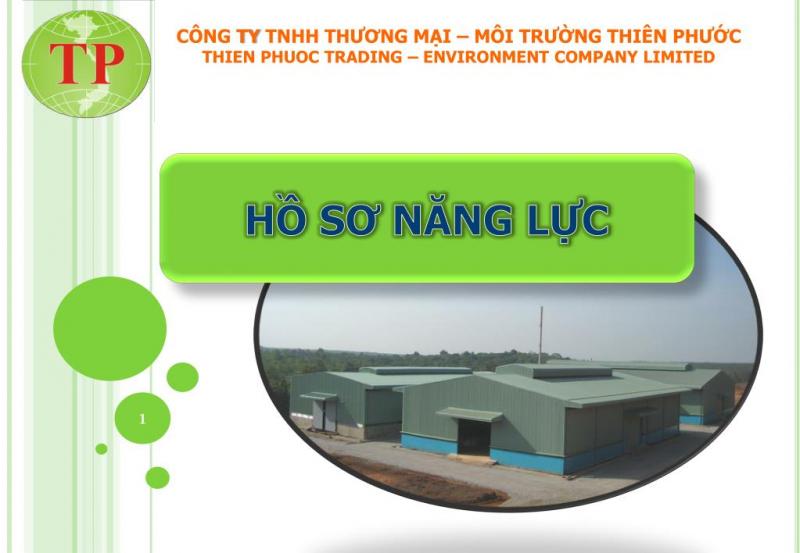 Công ty TNHH môi trường Thiên Phước
