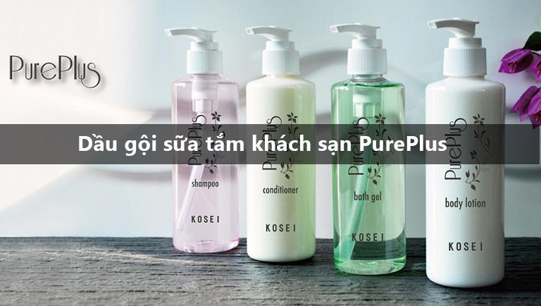 Kosei – Sản phẩm dầu gội, sữa tắm hoàn hảo cho khách